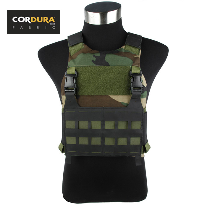 Tactical Low Profile Plate Carrier Ferro Slickster Woodland Hypalon Flap(STG051005) patrizia pepe sera шарф
