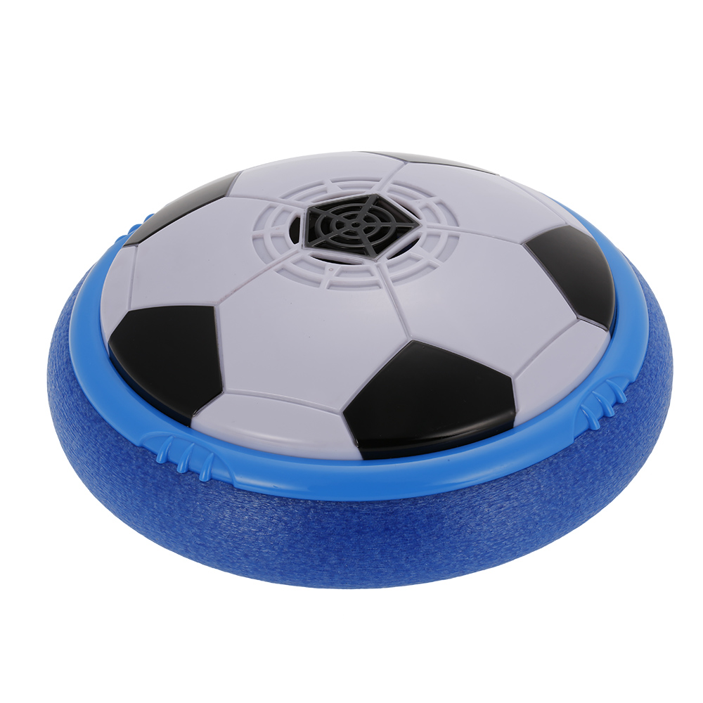 14/18/21.5cm Diameter Air Power Football Floating Soccer Children Sport Toys Training Football With LED Lights Music Playing