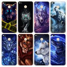 Фотография Black Wolf Lion Phone Case for Xiaomi Redmi Max2 A1 note3 4 mi6 4X 5X Magical Animals TPU Soft Silicone Protective Back Cover
