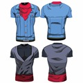 2016 Ball Z Dragon Ball Z Dos Homens 3D Camiseta Vegeta Goku Estilo Verão Camisa 3D Tops Tees Vestuário de Moda além de