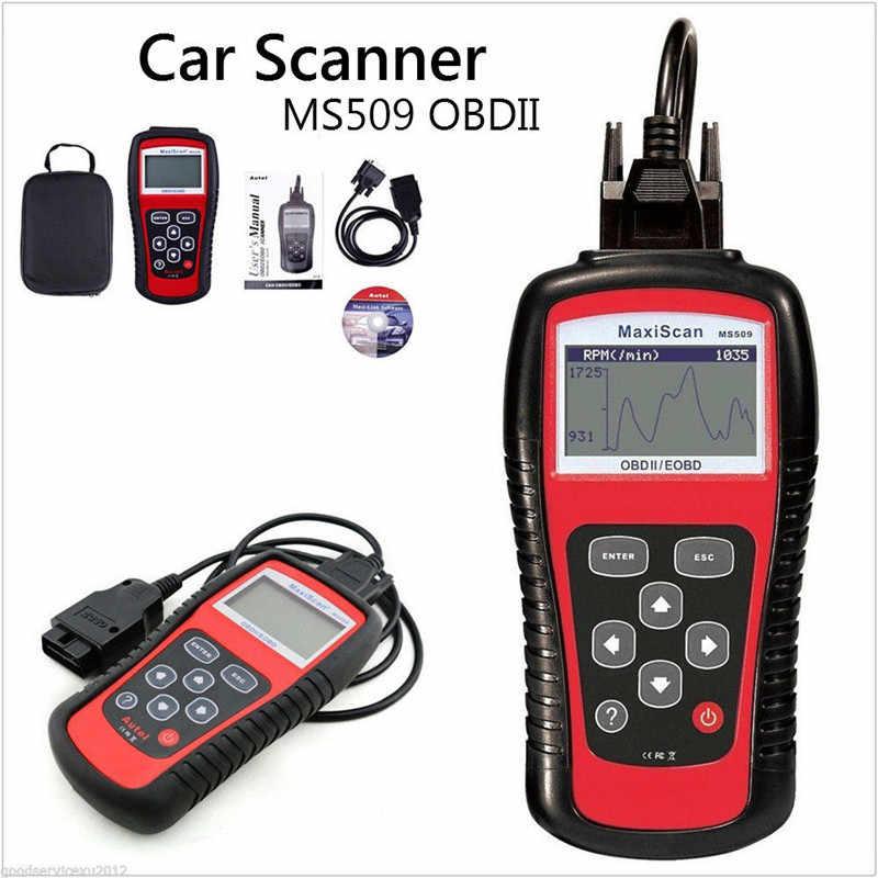 CARPRIE skaner samochodowy Autos EOBD OBD2 OBDII MS509 zestaw danych żywo czytnik kodów diagnostyczne silnika dropship 19M26