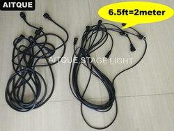 Na zewnątrz doprowadziły przedłużacz 3 pin kabel led 2 metr ip65 kable 6.5ft kabel dmx w Oświetlenie sceniczne od Lampy i oświetlenie na