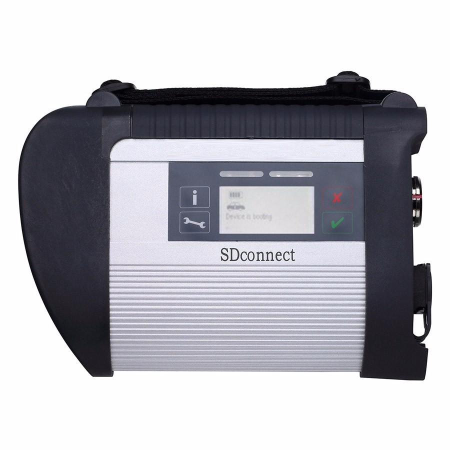 Newly MB Diagnostic tool for MB Star C4 New Compact support more than 20 languages SD Connect C4 with Wifi without software - 2