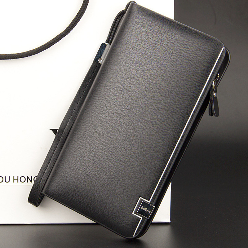 2016 New men wallets Casual wallet men purse Clutch bag Brand leather wallet long design men card bag gift for men phone wallet irit ir 2305 дорожный