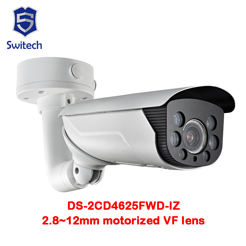 Original Oversea Version DS-2CD4625FWD-IZ(2.8~12mm)2MP Smart IP Vandal-proof IP66 50m IR Motorized lens with Smart Focus smart junior 2 cl cd