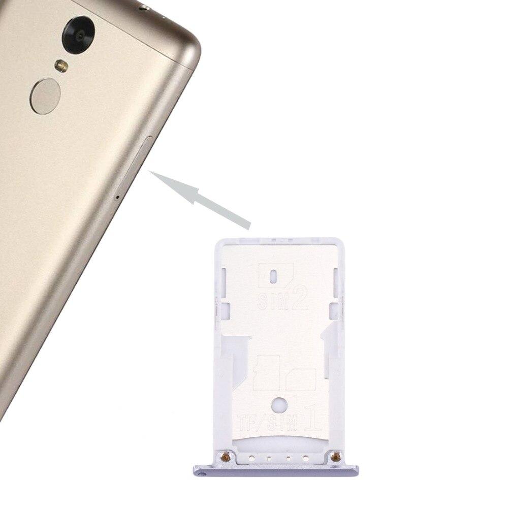 IPartsBuy New SIM & SIM / TF Card Tray For Xiaomi Redmi Note 3 (Qualcomm Version)