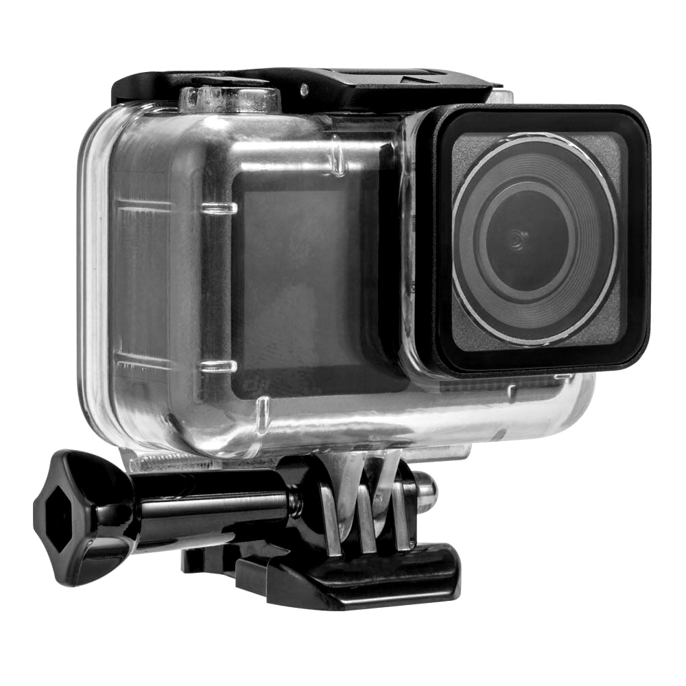 Image 3 - 40M Diving Go Waterproof Pro Housing Case Cover Box Accessories For DJI OSMO Action Camera Shell Accessories Sports Cam-in Sports Camcorder Cases from Consumer Electronics