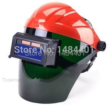 ФОТО Electric welder mask Arc Tig Mig Mask Grinding Face Welder Chrome Brushed free post