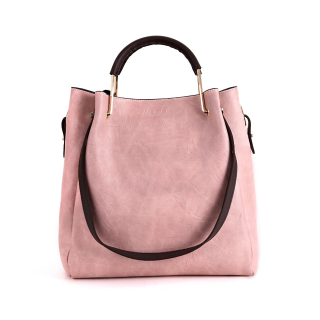 72e547d14f03 Fashion Women s Composite Shoulder Bag for Girl PU Leather Simple  Multi-purpose Solid Color Ladies Handbags Bolso Mujer