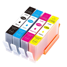 4Pack 178xl Compatible Ink Cartridge Replacement for HP 178 XL Photosmart 7515 5515 B109a B010b B209 B210 3070A 3520 7510