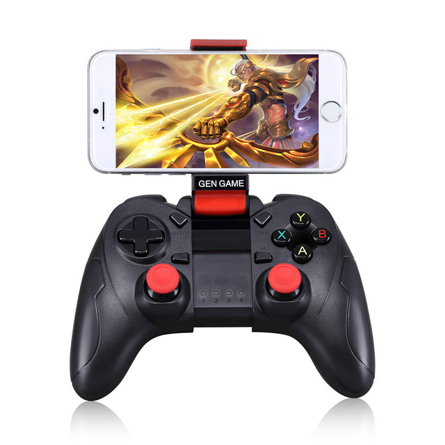 Recarregável Smartphone Controlador Do Jogo Do Telefone Sem Fio Bluetooth Gamepad Joystick para Android Phone/Pad/Tablet Android PC TV