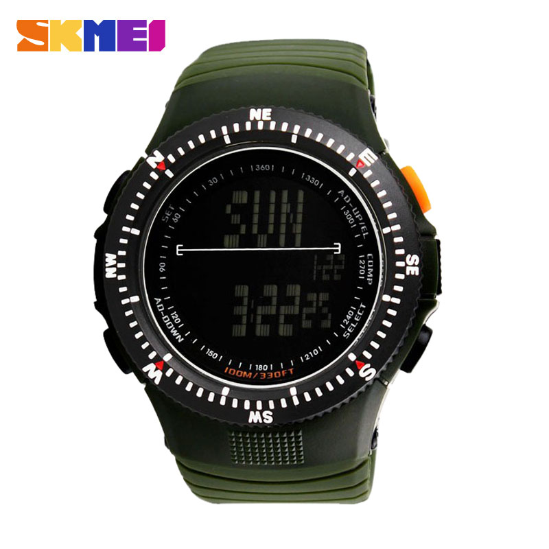 Men Countdown Digital Watch SKMEI Male Watch Casual Quartz Clock LED Digital Tactical Watch Men Sports Watches Relogio Masculino