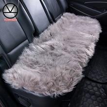 KAWOSEN задняя крышка сиденья автомобиля из искусственного меха универсальный размер для большинства автомобилей искусственная плюшевая задняя Подушка Авто аксессуары для интерьера LFFS01