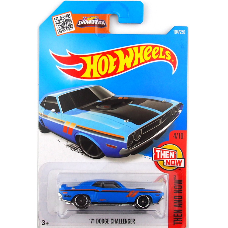 HotWheels Die-casts Then and Now: '71 DG CHALLENGER/Toy/Mannequin Automotive/2016#104/250