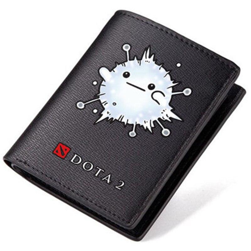 High Quality New New Dota 2 Ti7 SF Nevermore Guardian Wisp Panda Printing Men Long Purse Pu Short Gift Wallet Id Card Holder - intl
