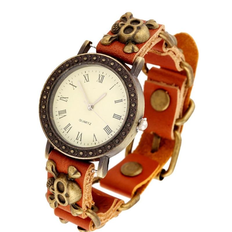 online get cheap punk rock watch aliexpress com alibaba group 2016 whole best deal women watch unique style punk rock watches bracelet cuff gothic wrist