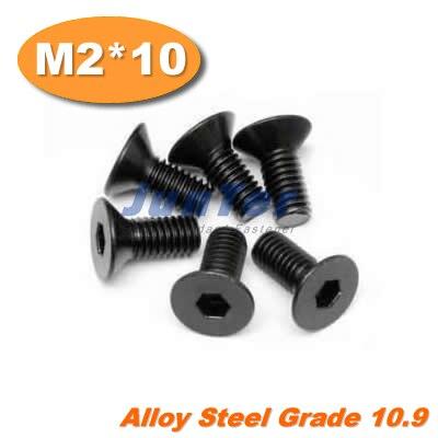 1000 teile/los DIN7991 M2 * 10 Stahl Flachkopfschraube Grade10.9-in Schrauben aus Heimwerkerbedarf bei AliExpress - 11.11_Doppel-11Tag der Singles 1
