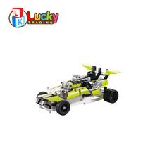 Cool Unique Deformation RC Car 2.4g Building Blocks Design Toy Remote Control Car Racing High Speed Wltoys for Kids Children kids rc car toy speed pipes racing track remote control building tubes diy set flash light baby educational toys for children page 4 page 5
