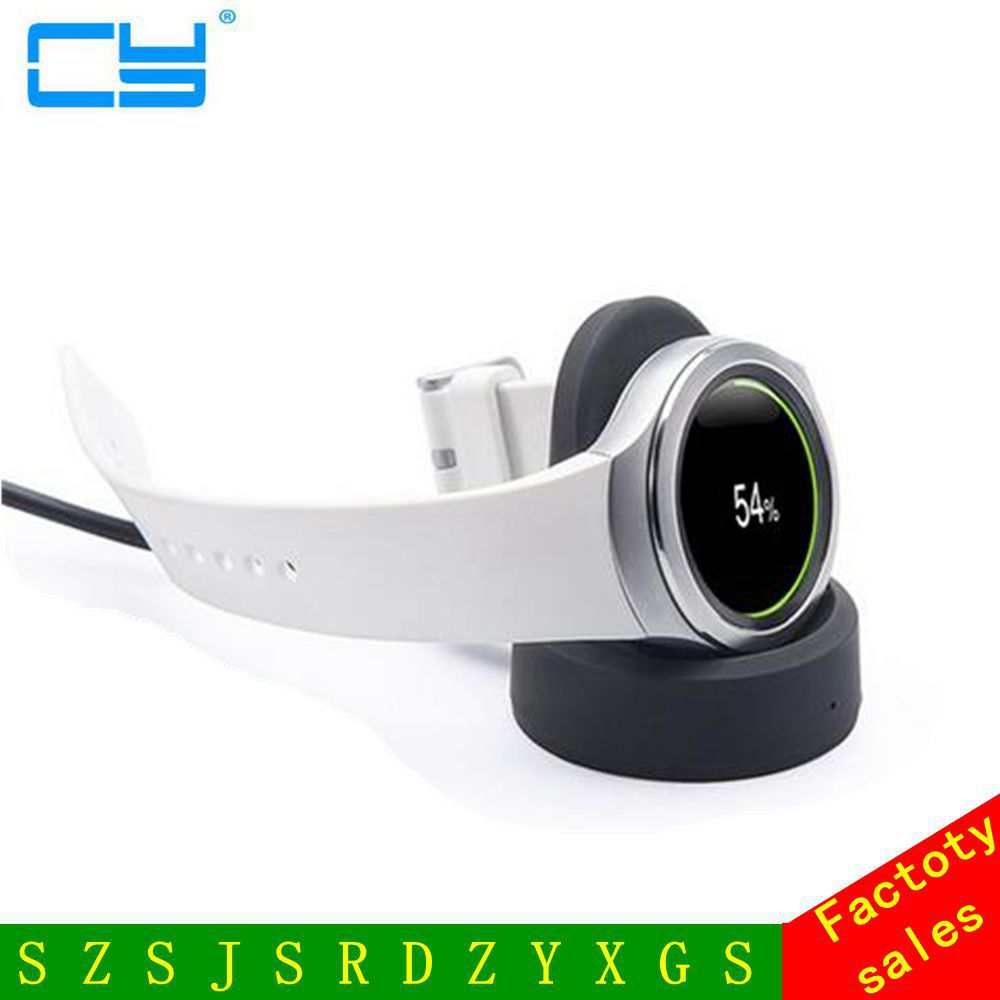 Wireless Qi Charging Dock Cradle Charger For Samsung Gear S3 Classic Frontier Watch k8 qi wireless charging transmitter pad for nokia lumia 820 920 samsung galaxy s3 i9300 note 2