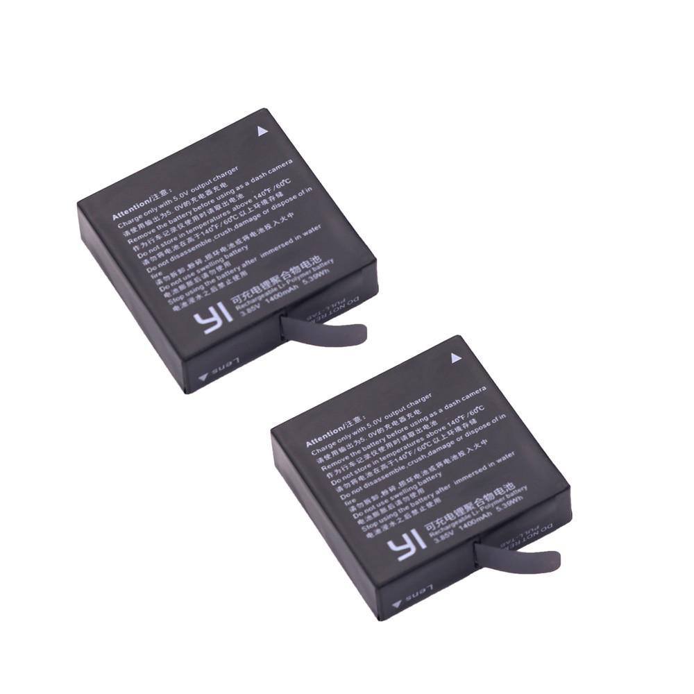 Free shipping 2x Original AZ16 1 Xiaomi Yi 2 4K battery For XiaoYi 2 4K Xiaomi