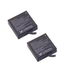 Bateria para Xiaoyi Frete Grátis 2X Az16-1 Originais Xiaomi YI 2 4 K II Ação Acessórios DA Câmera