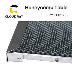 Image 5 - Cloudray Honeycomb Working Table 300*500 mm Customizable Size Board Platform Laser Parts  for CO2 Laser Engraver Cutting Machine