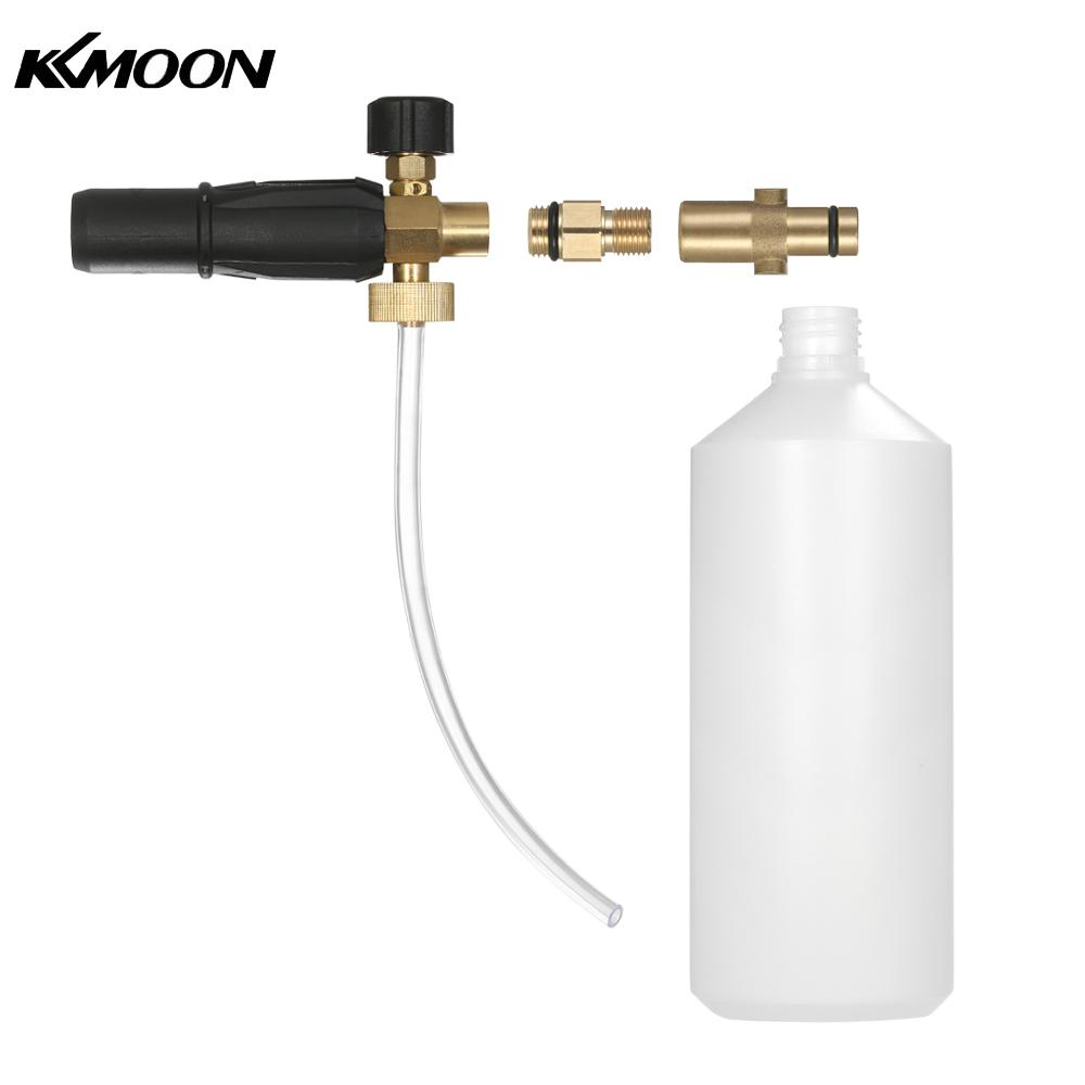 Adjustable Foam Lance 1L Bottle Snow Foam Nozzle Injector Soap Foamer for Nilfisk Pressure Car Washer mjjc brand foam lance for karcher 5 units package free shipping 2017 with high quality automobiles accessory