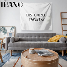 IBANO Customized Mandala Polyester Tapestry Wall Hanging Tapestries Christmas Wedding Decoration Table Cloth 197*147cm/147*127cm