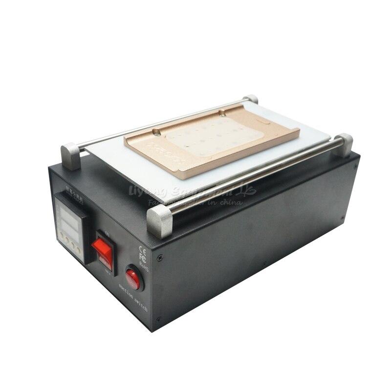 Machine de réparation de plate-forme de chauffage d'affichage à cristaux liquides de séparateur d'affichage à cristaux liquides pour S6 S6 + S7 S8 S8 + bord