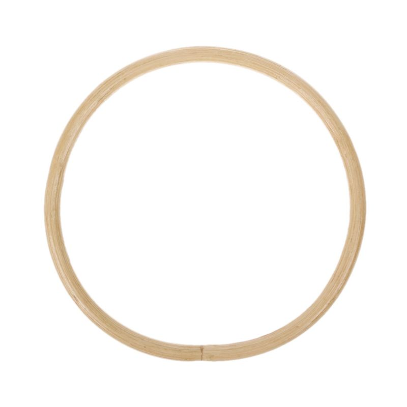 1 x Round Bamboo Bag Handle for Handcrafted Handbag DIY Bags Replacement Accessories 15cm  1 x Round Bamboo Bag Handle for Handcrafted Handbag DIY Bags Replacement Accessories 15cm