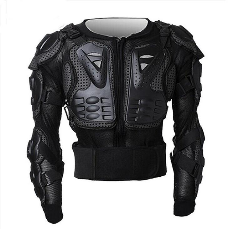 Noir Moto Moto cross Moto corps armure Protection garde veste hommes dos armure protecteur vêtements