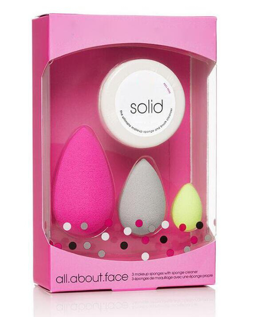 Makeup Sponge Cosmetic Puff Concealer Powder Blender Set Foundation Sponge Puff Wet Become Bigger Cosmetic Tool Make up Sponge 4