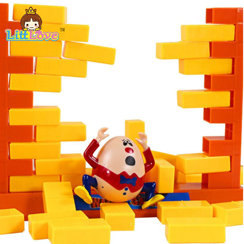 LittLove 2017 Roliga Gadgets Push Wall Board Game Demolish Creative - Nya föremål och humoristiska leksaker - Foto 5