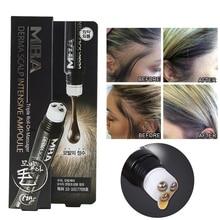MBA Hair Growth Serum Derma Scalp Intensive Ampoule Triple Roll Massager Fast Regrow Hair Line Hair Loss Essence