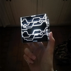 Image 1 - دعائم كوسبلاي إتوماتا 9S 2B صندوق أسود مضيء أبيض يورها No.9 نوع S No.2 نوع B المكعب السحري
