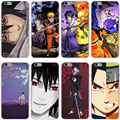Sasuke Naruto Hard Transparent Cover Case for iPhone 7 7 Plus 6 6S Plus 5 5S SE 5C 4 4S