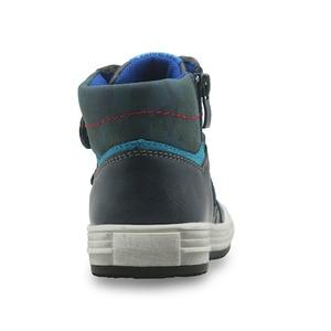 Image 4 - Apakowa秋男の子ブーツpuレザーアンクルブーツ新 2017 フラットスニーカーアーチサポート幼児子供靴eu 27 32