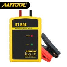 Oficial AUTOOL BT CAJA de batería probador de Apoyo Android/ISO Potente Función de Analizador de Baterías Para Automóviles Herramienta de Diagnóstico Del Coche