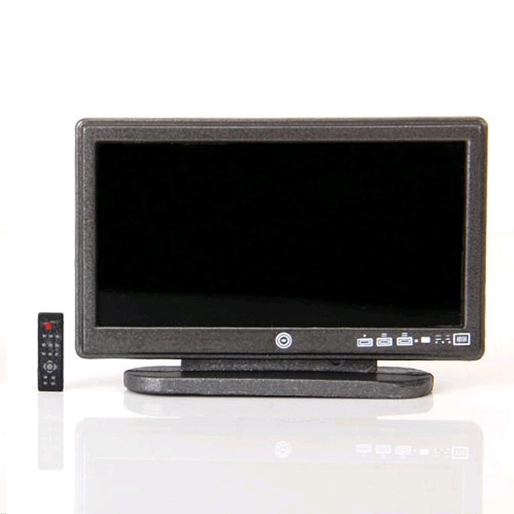 טלוויזיה LCD עם מיני אפור - צעצועים ממולאים