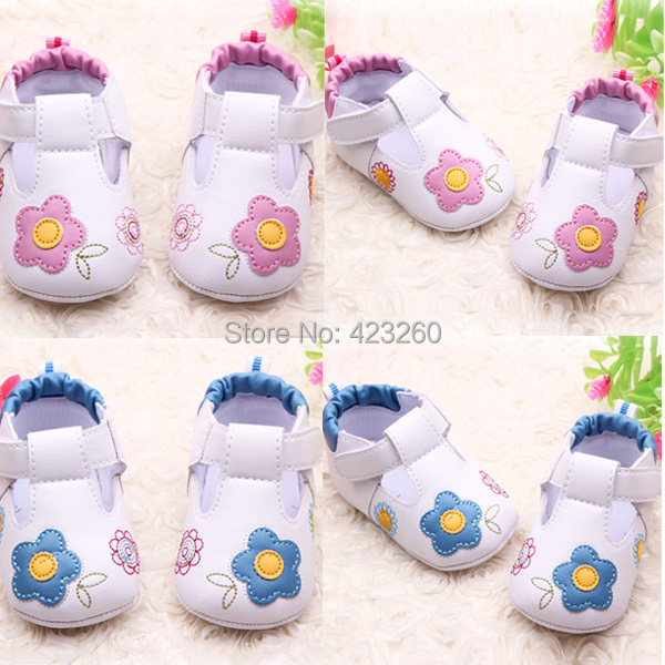 PU-Leather-Baby-Shoes-Newborn-Flat-First-Walkers-Princess-Soft-Bottom-Pre-walker-Shoes-2