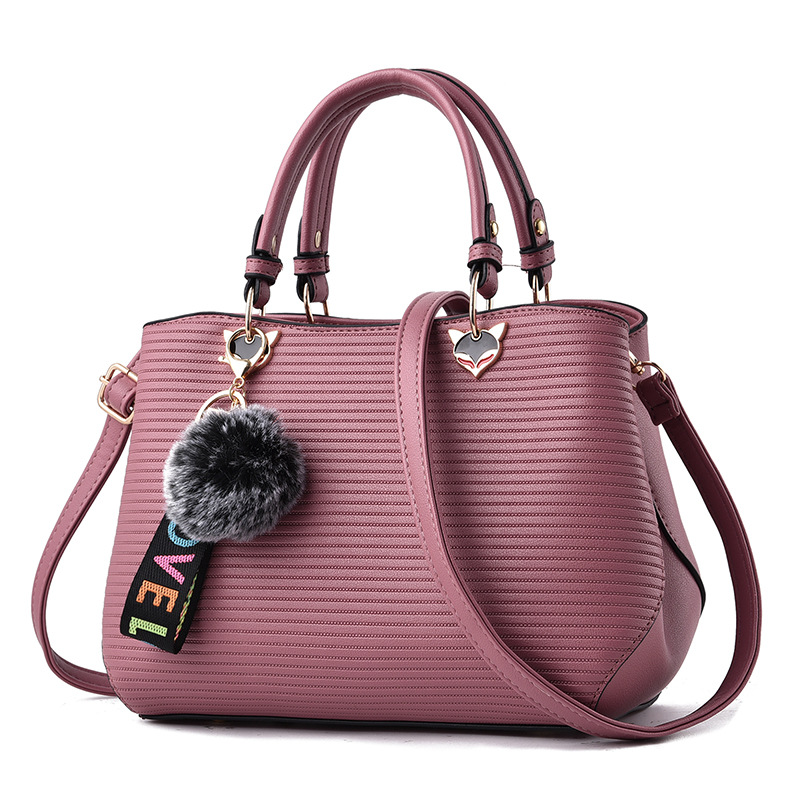 MONNET CAUTHY New Arrival Female Totes Classic Concise Fashion Ladies Handbags Solid Color Purple Grey Pink Black Crossbody Bags in Top Handle Bags from Luggage Bags