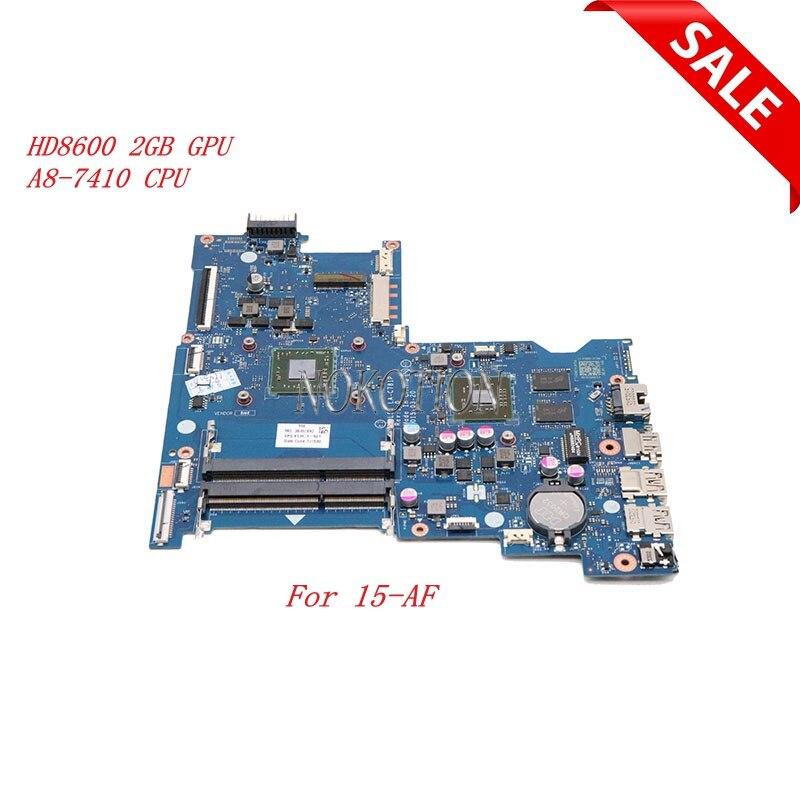 Nokotion ABL51 LA-C781P For HP 15-AF 813971-501 813971-001 Laptop motherboard HD 8600 2GB GPU A8-7410 CPU onboardNokotion ABL51 LA-C781P For HP 15-AF 813971-501 813971-001 Laptop motherboard HD 8600 2GB GPU A8-7410 CPU onboard