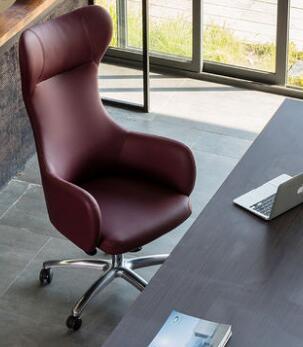 European computer chair desk room leisure home swan chair hall hotel office style computer chair. replica fritz hansen swan chair leather