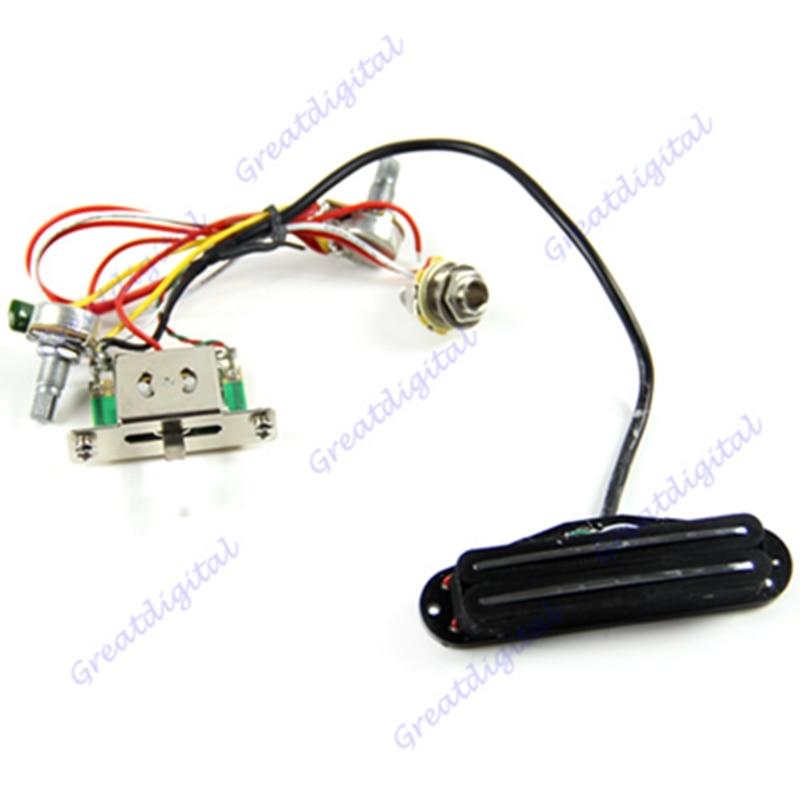 Electric Guitar Pickup Wiring
