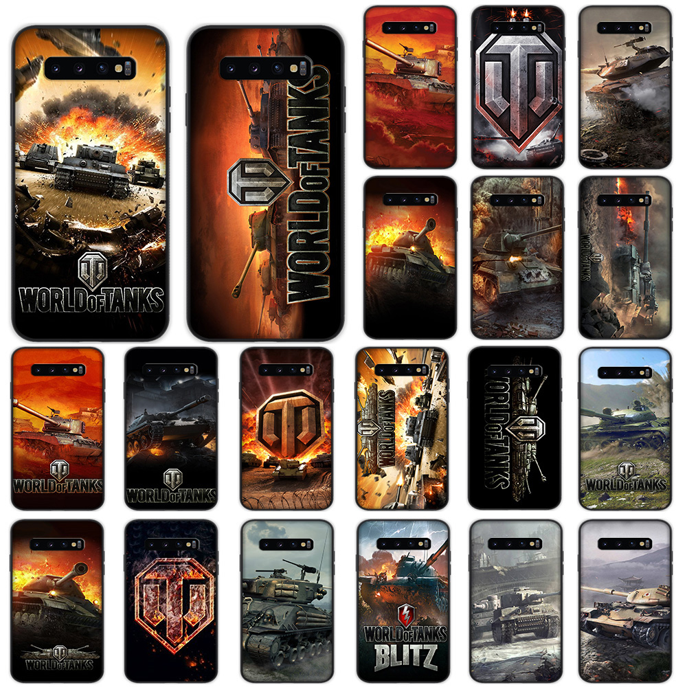 World of Tanks Soft Case for Samsung Galaxy S10 Plus S10e S7 Edge S8 S9 Plus Cover