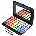 Professional 48 Colors Eye Shadow Makeup Cosmetics Make Up Glitter Multi-color Eyeshadow Palette With Brush Set