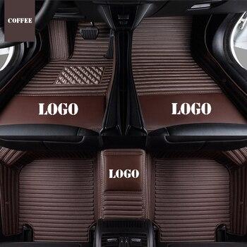 Custom logo car floor mats for ssangyong rexton Rodius ActYon Korando kyron auto accessories car mats