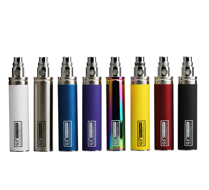 Original GS EGO II 3200mAh Battery Electronic Cigarette kONE 3200 Mah Capacity for Vape 510 CE4 CE5 H2 MT3 Atomizer Tank Pen Kit