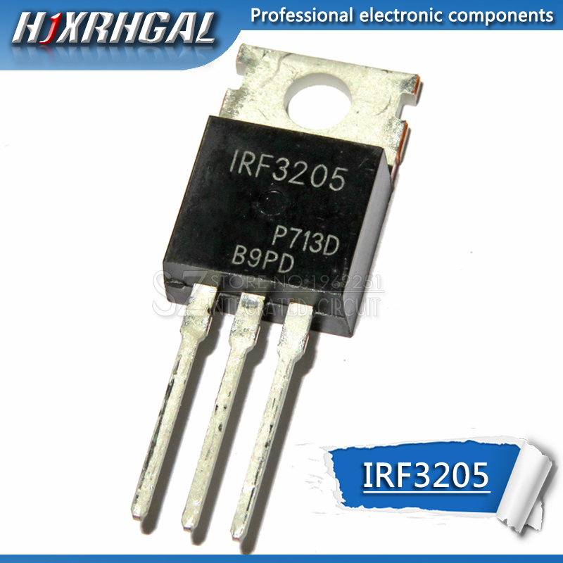 10pcs Hot Products IRF3205PBF TO-220 IRF3205 TO220 HEXFET MOSFET10pcs Hot Products IRF3205PBF TO-220 IRF3205 TO220 HEXFET MOSFET