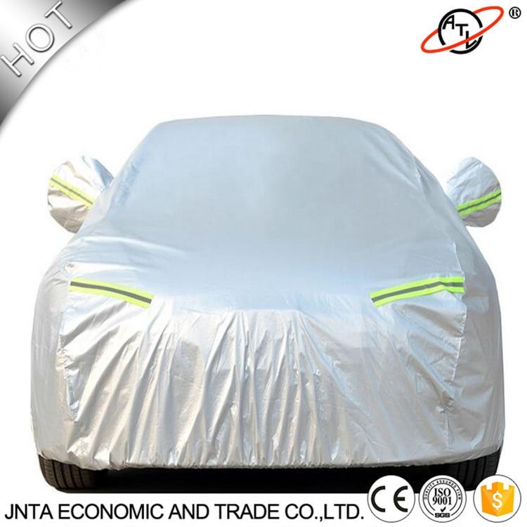 Hochwertige doppelseitige silberne T190-Autoplanen, vier Jahreszeiten, universell, wasserdicht und regenfest